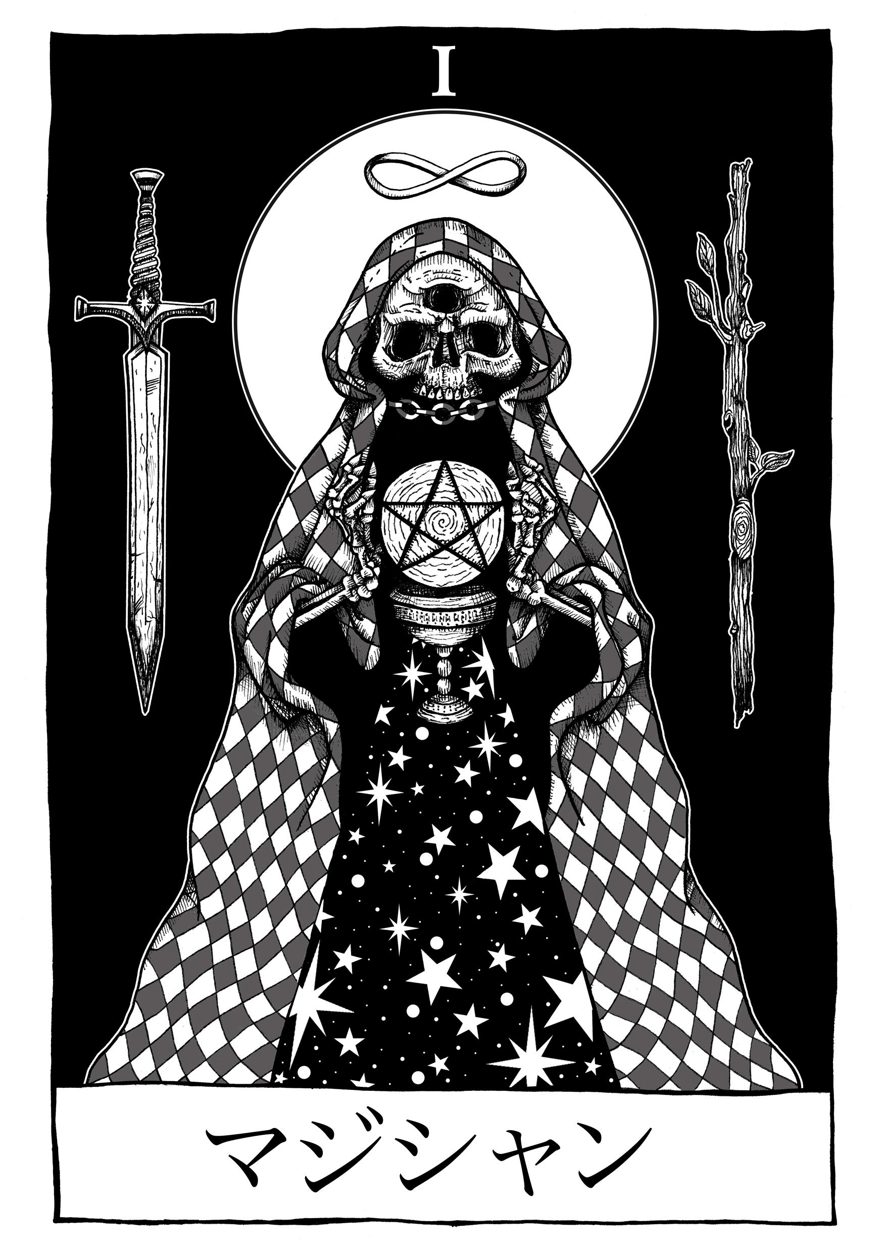 'The Magician' - Tarot Card