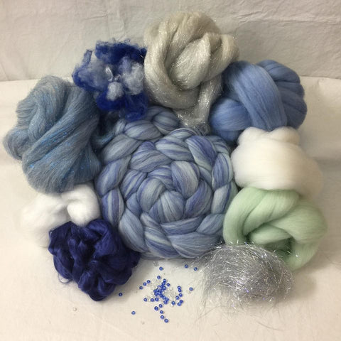 Napa Valley Fiber Club Kit December 2017 Ice Queen