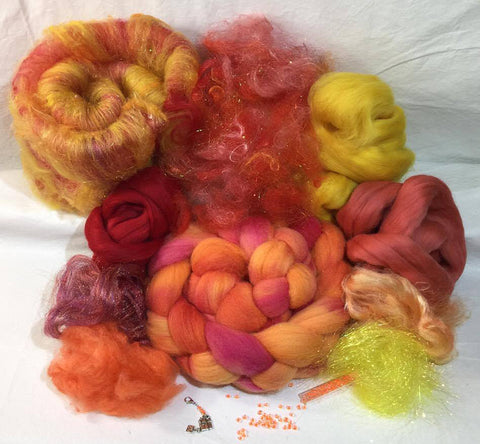 Napa Valley Fiber Club Kit August 2017 Summer Heat
