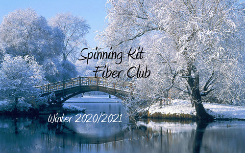 Fiber Club Winter 2020/2021 Edition Spinning Club Kits ~ Dec 2020, Jan, Feb 2021