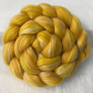 Merino/Tussah Silk, (70/30) Braid ~ 4 oz