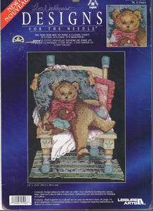 Mr. Bear ~ Designs For The Needle, Floss Needlepoint, New