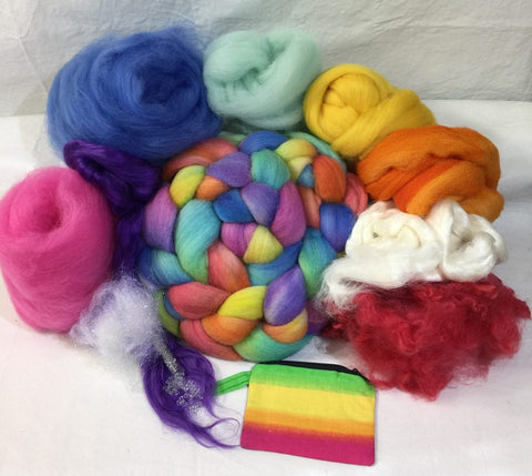 Napa Valley Fiber Club Kit June 2017 Summer Heat