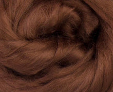 Bamboo Top Dyed Spinning Fiber ~ Brown / 2 Oz