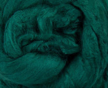 Bamboo Top Dyed Spinning Fiber ~ Green / 2 Oz