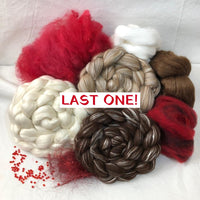 'Bare Necessities!' ~ Really Need Red! ~ Luxury Triple Braid Spinning Kit
