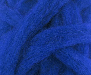 Carded Corriedale Sliver Dyed Wool Fusion~ 4 Oz Fiber