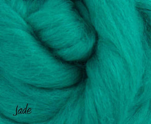 Napa Valley Fibers Corriedale Mixed Bag ~ Fiber Tasting #3 Dyed