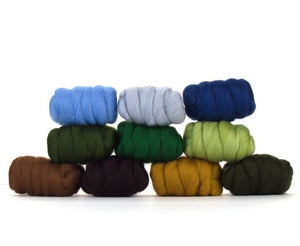 Napa Valley Fibers Country Garden Merino Mixed Bag Dyed Fiber