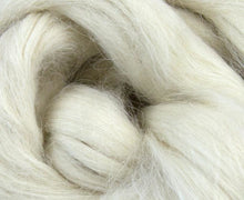 White Suri Alpaca Top ~ Luxury Spinning Fiber / 2 Oz New!