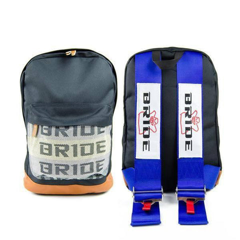 Blue Bride Backpack with JDM Style Racing Harness Straps