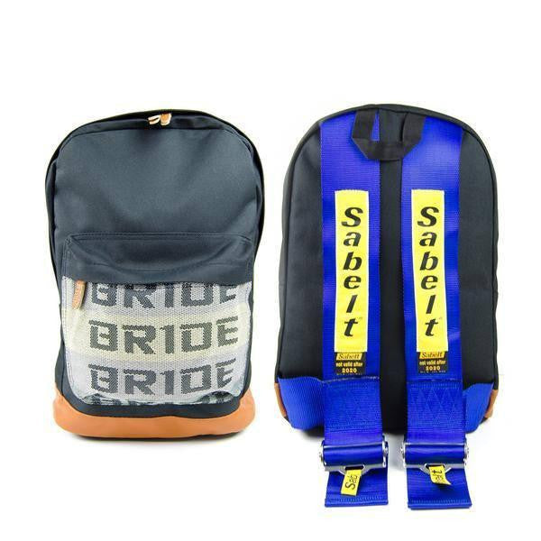 Blue Bride Backpack with SABELT Style Racing Harness Straps