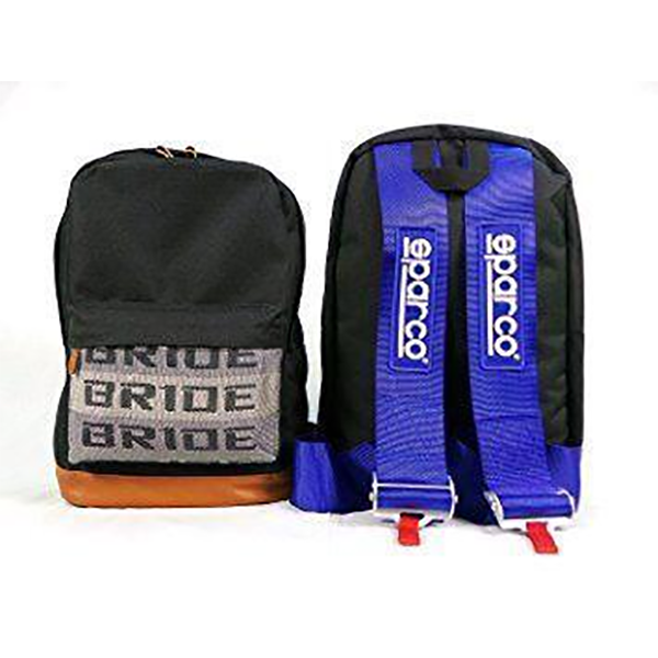 Blue Bride Backpack with SPARCO Style Racing Harness Straps