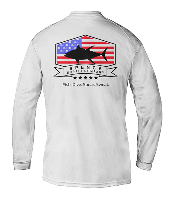 Men's Performance Shirt- TUNAMERICA