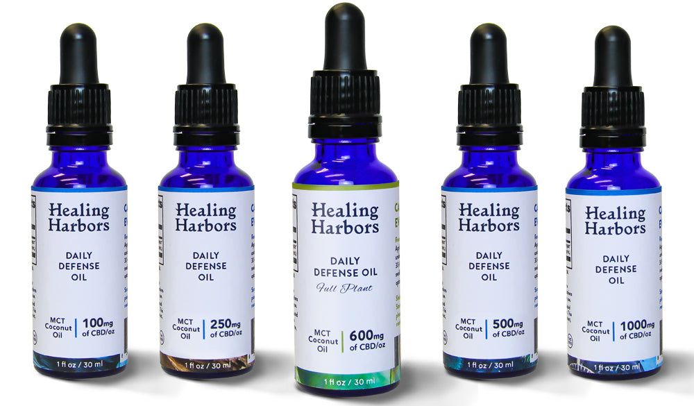 Healing Harbors CBD and MCT Tinctures for Daily Defense and Healthy Mind and Body