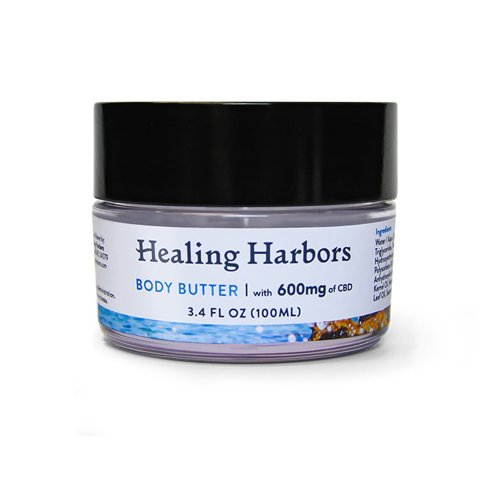 Hemp Oil Body Butter: 3.4oz