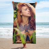 """Midsummers Dream"" Beach Towel by Dani Vi"