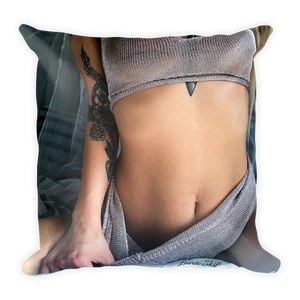 """Just The Tip"" Throw Pillow by Luna Skye"