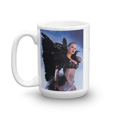 """Fallen"" Coffee Mug by Jay Lynn"