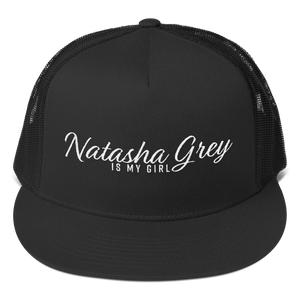"""Natasha Grey IMG"" Snapback Trucker Hat by Natasha Grey"