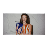 """Independence"" Beach Towel by La Sirena"
