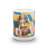 """Messy Girl"" Mug by Dani Vi"