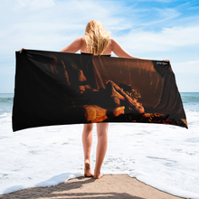 """Temptress"" Beach Towel by Jay Lynn"