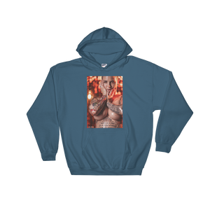 "Men's ""Oil Slick"" Hoodie by Jay Lynn"