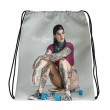 """Out of Step"" Drawstring Bag by Heidi Lavon"