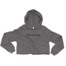 """Natasha Grey"" Crop Hoodie by Natasha Grey"