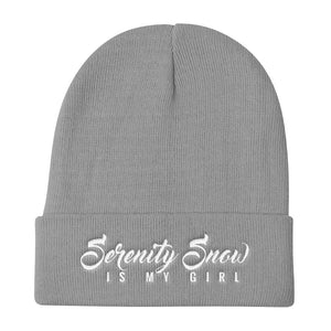"""Serenity Snow IMG"" Knit Beanie by Serenity Snow (More Options)"