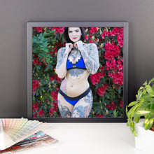 """Secret Garden"" Framed Art Print by Heidi Lavon"