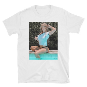 "Unisex ""Poolside"" Tee by Gucci Blue"