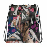 """Vandal"" Drawstring Bag by Natasha Grey"