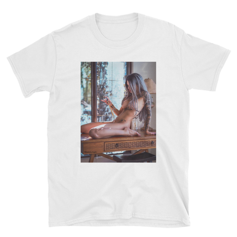"Unisex ""Artists Touch"" Tee by Misskattastrophe"