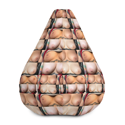 """Bag O' Titties"" Bean Bag Chair by Tianna Star"
