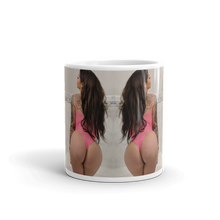 """Caught in a Net"" Coffee Mug by Katgerig (More Options)"