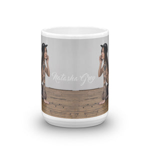 """Snapbacks & Tattoos"" Mug by Natasha Grey (More Options)"