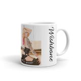 """Pink-A-Boo"" Coffee Mug by Wishbone"