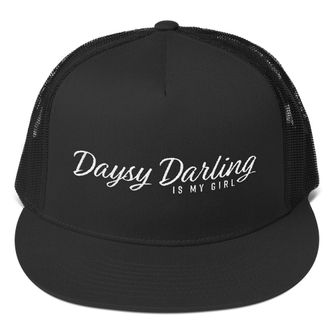 """Daysy Darling IMG"" Snapback Trucker Hat by Daysy Darling"