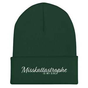 """Misskattastrophe IMG"" Knit Beanie by Misskattastrophe (More options)"