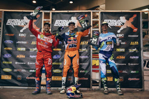 Ty Tremaine rounded out the podium on the Alta Redshift electric bike to earn the first-ever AMA professional podium for an electric powered