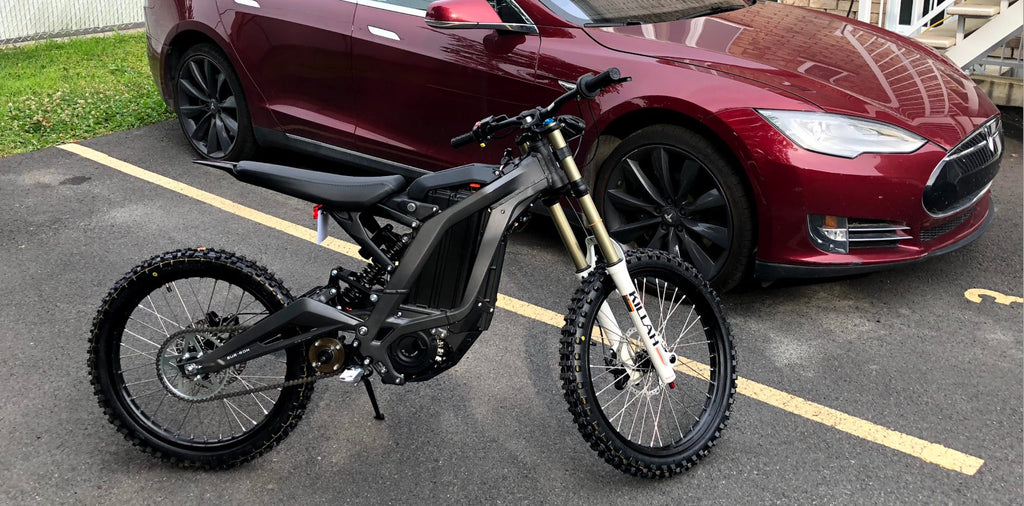Sur-Ron is a monster electric bike with 50 miles of range and insane top speed