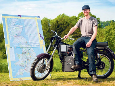 Land's End to John O' Groats on an electric Royal Enfield Bullet