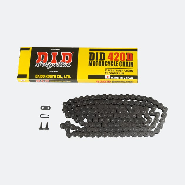 D.I.D 420D Black Racing chain - Stag Motorcycles