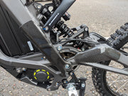 Carbon Fibre Frame Guard for Sur-Ron Light Bee - Stag Motorcycles