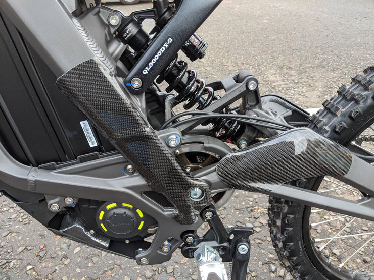 Carbon Fibre Frame Guard for Sur-Ron Light Bee/Segway Dirt eBike - Stag Motorcycles