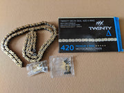 MX Twenty Delta 420 X Ring Chain - Stag Motorcycles
