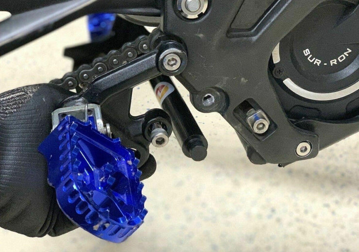 Race Spec Foot Peg Brace for Sur-Ron/Segway - Stag Motorcycles