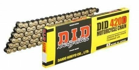 D.I.D Gold/Black Racing chain - Stag Motorcycles
